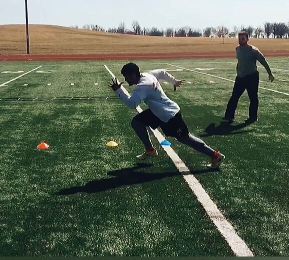 best conditioning workout for football - Charles Westbrook and Jeremy Burgos