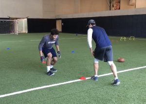 defensive back drills - ian swenson