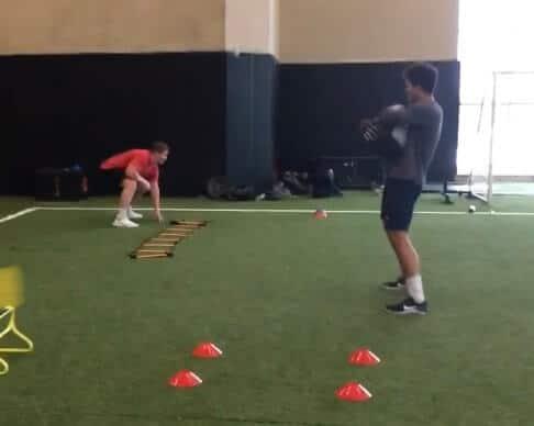 offensive line drills for football - jack badovinac and ian swenson