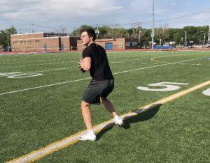 quarterback training drills - tommy herion