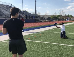 wide receiver training drills - david terrell jr and tommy herion